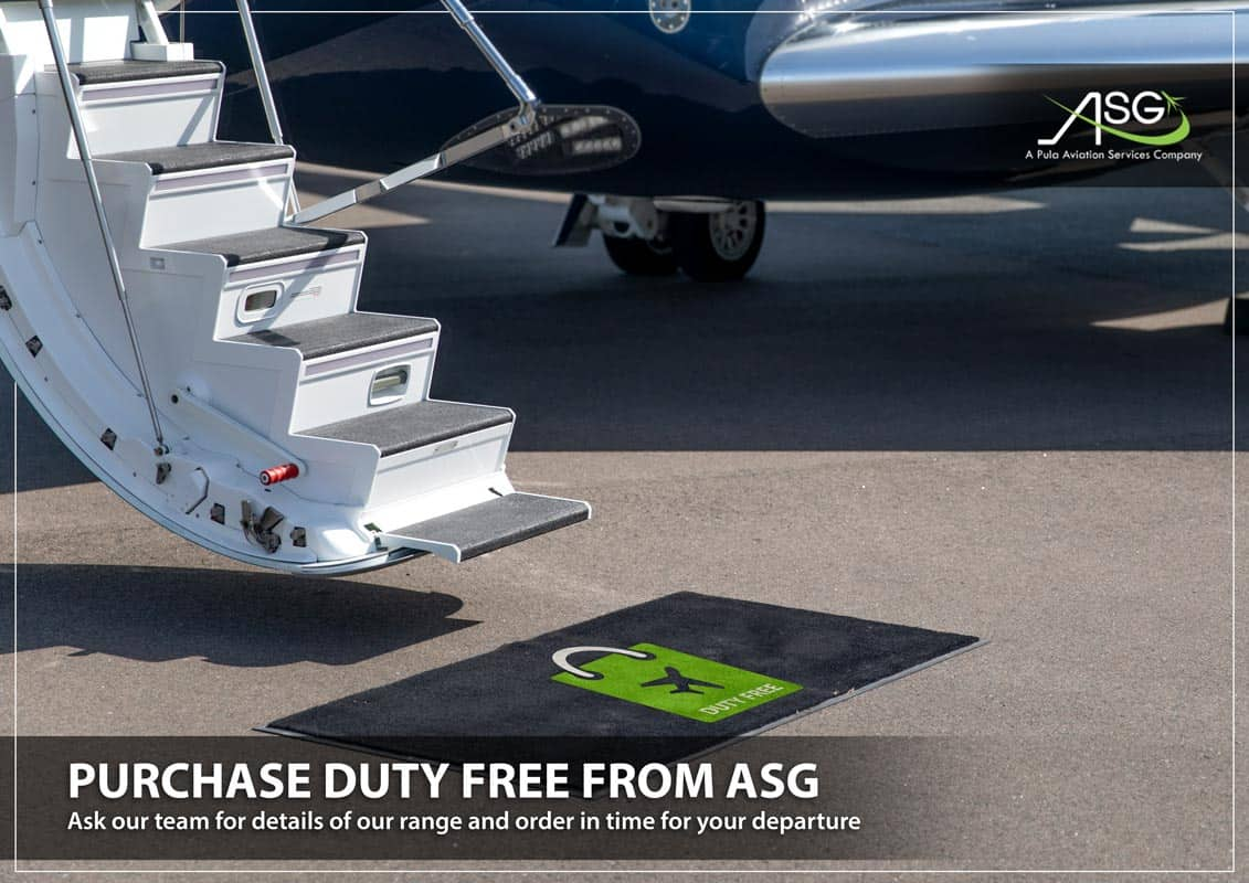 image of duty free ASG