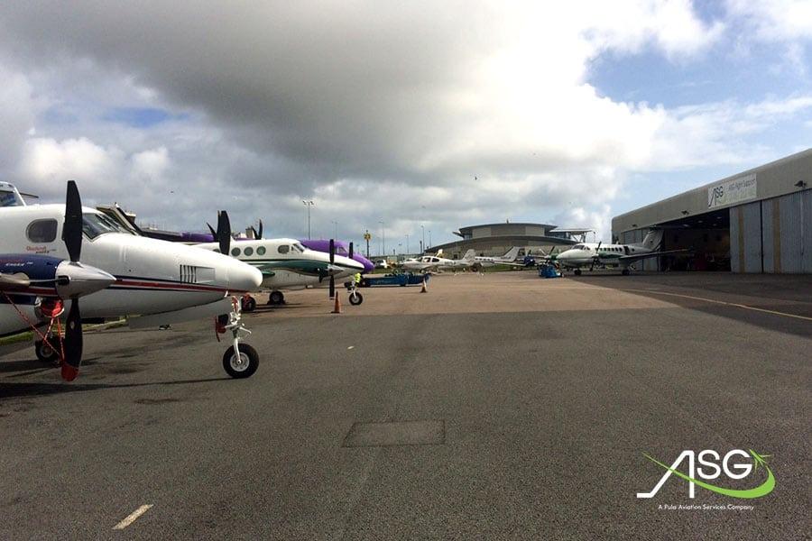 Fly Asg aircraft
